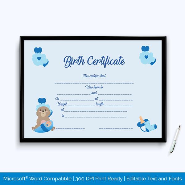 Nadra Birth Certificate Fee