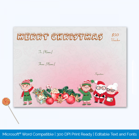 Christmas Gift Certificate
