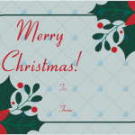Christmas-Gift-Tag-Template-Flower