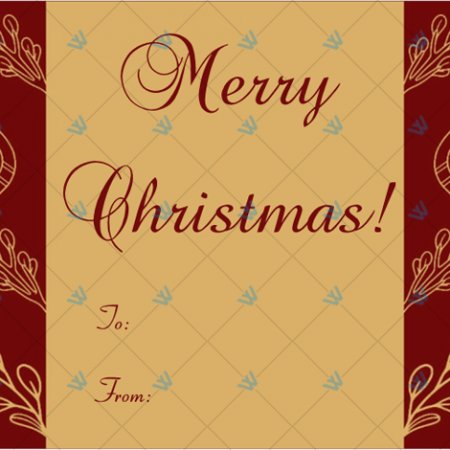 Christmas-Gift-Tag-Template-Maroon