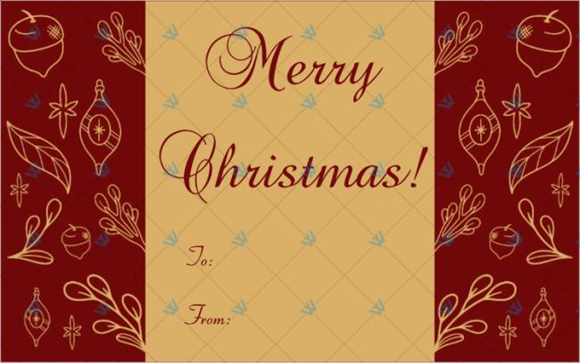 Christmas-Gift-Tag-Template-Maroon