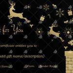 Christmas-Gift-Certificate-Reindeers-in-Night