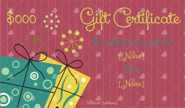 Gift-Certificate-Template-Dark-Pink
