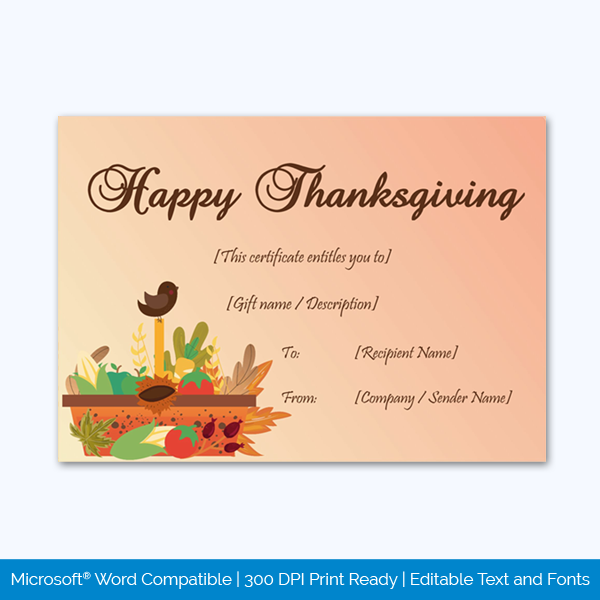 Thanksgiving-Gift-Certificate-Template-(Basket,-#5614)-pr