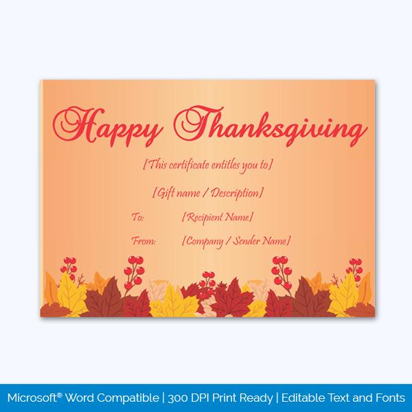 Thanksgiving-Gift-Certificate-Template-(Cherry,-#5609)-pr