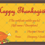Thanksgiving-Gift-Certificate-Template-(Chicken,-#5604)