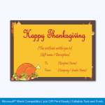 Thanksgiving-Gift-Certificate-Template-(Chicken,-#5604)-pr