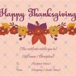 Thanksgiving-Gift-Certificate-Template-(Floral,-#5618)