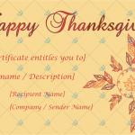 Thanksgiving-Gift-Certificate-Template-(Flower,-#5594)