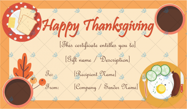 Thanksgiving-Gift-Certificate-Template-(Happy-Meal,-#5598)
