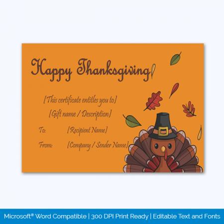 Thanksgiving-Gift-Certificate-Template-(Orange,-#5605)-pr