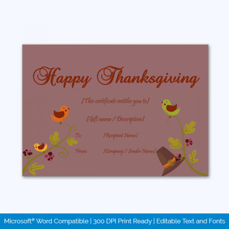 Thanksgiving-Gift-Certificate-Template-(Sparrow,-#5615)-pr