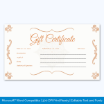 Homemade Voucher Template