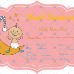 Baby-Birth-Certificate-Pink-Themed