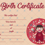 Birth-Certificate-Template-(Baby-Girl)