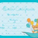 Birth-Certificate-Template-(Ballons,-#4375)