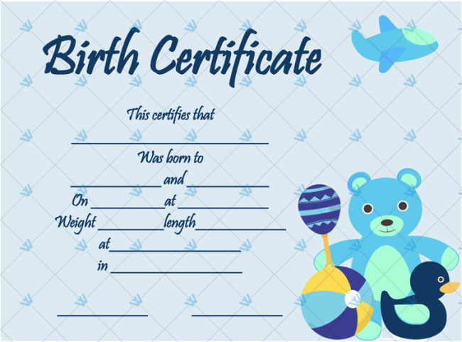 Birth-Certificate-Template-(Bear-Toys,-#4351)