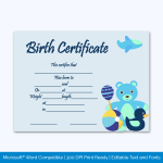 Birth-Certificate-Template-(Bear-Toys,-#4351)-Preview