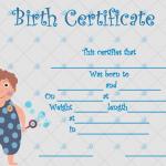Birth-Certificate-Template-(Boy,-#4342)