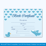Birth-Certificate-Template-(Ducklin,-#4334)-Preview