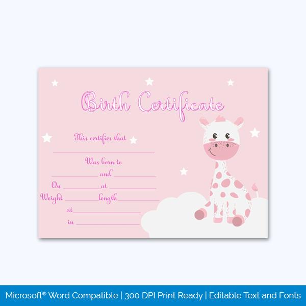 Birth-Certificate-Template-(Girraffe)-pr