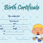 Birth-Certificate-Template-(Happy-Baby,-#4350)