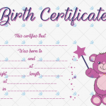 Birth-Certificate-Template-(Magic-Bear)