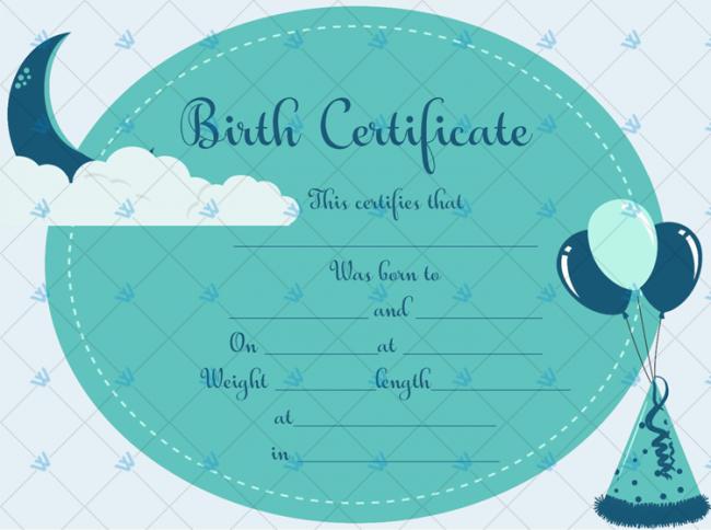Birth-Certificate-Template-(Moon,-#4373)