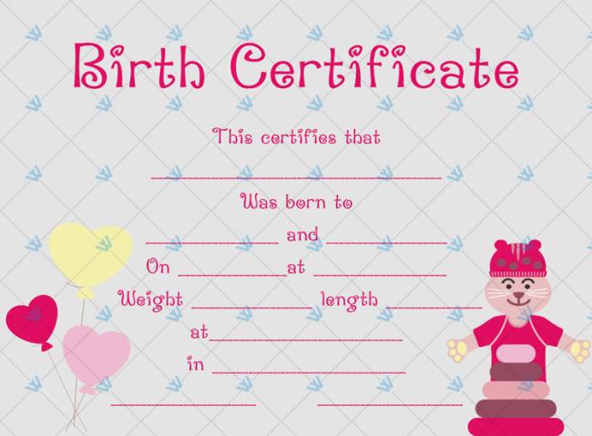 Birth-Certificate-Template-(Tom,-#4359)
