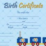 Birth-Certificate-Template-(Train,-#4345)