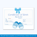 Blue-Shoes-Themed-Birth-Certificate-pr