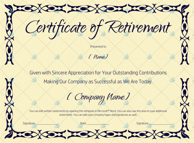 Certificate-of-Retirement-(#927)---Gold-Design