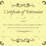Certificate-of-Retirement-Sample-Wording-(Brown)-(#925)