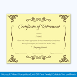 Funny Certificates For Work Colleagues