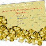 Golden-Paper-Wedding-Gift-Certificate-Template