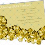 Golden-Paper-Wedding-Gift-Certificate-Template-2