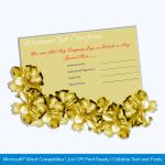 Golden-Paper-Wedding-Gift-Certificate-Template-pr