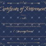 Retirement-Certificate-Template-Blue