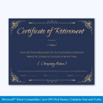 Retirement-Certificate-Template-Blue-Preview