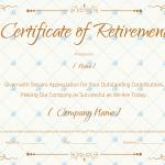 Retirement-Certificate-Template-Brown