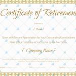 Retirement-Certificate-Template-Brown 923