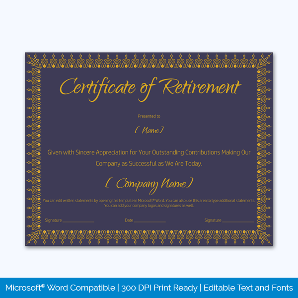 Retirement-Certificate-Template-(Royal-Blue,-#930)-Preview