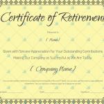 Retirement-Certificate-Template-Yellow 923