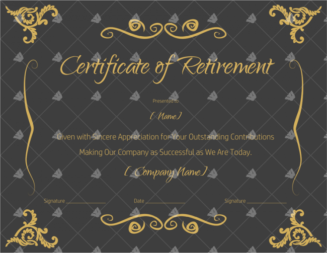 Retirement-Certificate-for-teacher,-army,-navy-or-any-other