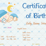 Sleeping-Baby-Theme-Birth-Certificate