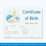 Sleeping-Baby-Theme-Birth-Certificate-Pr
