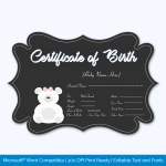 Teddy-Bear-Themed-Birth-Certificate-Preview