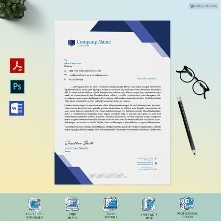Letterhead template 33 Preview