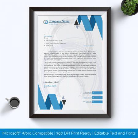 Printable Letterhead Template Format