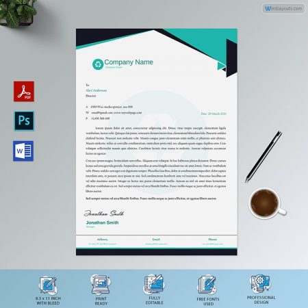 Letterhead Template 32 1preview